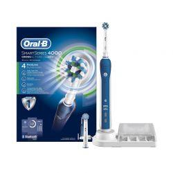 Ηλεκτρική Οδοντόβουρτσα Oral-b Smart Series 4000 Cross Action OLB-CRS4000-BRS