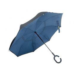 Ομπρέλα Χειρός Χρώματος Μπλε REVERUMBRMANUAL