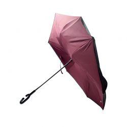 Ομπρέλα Χειρός Χρώματος Μπορντό REVERUMBRMANUAL