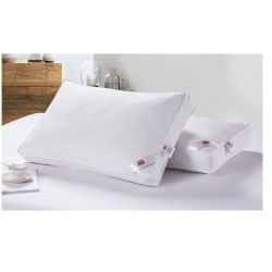 Σετ 2 βαμβακερά πουπουλένια μαξιλάρια Dickens ξενοδοχειακής ποιότητας 5*