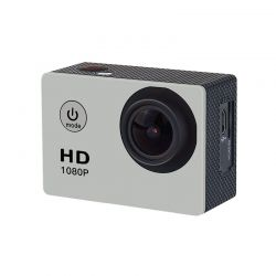 Αδιάβροχη Κάμερα Δράσης HD 1080P Cenocco Χρώματος Ασημί CC-9034