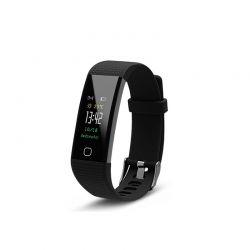 Ρολόι Fitness Tracker Aquarius AQ125 με Έγχρωμη Οθόνη και Μετρητή Καρδιακών Παλμών Χρώματος Μαύρο R161610