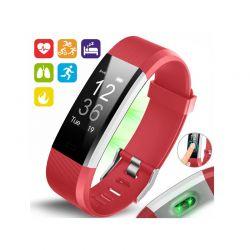 Ρολόι Fitness Tracker Aquarius AQ125HR με Μετρητή Καρδιακών Παλμών Χρώματος Ροζ R157696