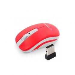 Ασύρματο Οπτικό Ποντίκι 2.4GHz USB Esperanza Uranus Χρώματος Κόκκινο EM126