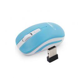 Ασύρματο Οπτικό Ποντίκι 2.4GHz USB Esperanza Uranus Χρώματος Μπλε EM126