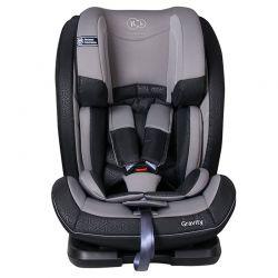 Παιδικό Κάθισμα Αυτοκινήτου Χρώματος Γκρι για Παιδιά 9-36 Kg KinderKraft Gravity