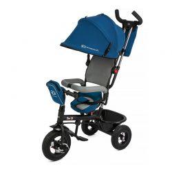 Τρίκυκλο Παιδικό Ποδήλατο με Λαβή Ελέγχου KinderKraft Swift Χρώματος Μπλε