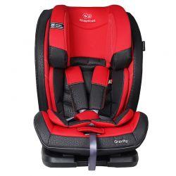 Παιδικό Κάθισμα Αυτοκινήτου Χρώματος Κόκκινο για Παιδιά 9-36 Kg KinderKraft Gravity