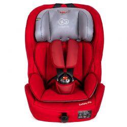 Παιδικό Κάθισμα Αυτοκινήτου Χρώματος Κόκκινο για Παιδιά 9-36 Kg KinderKraft Safety - Fix