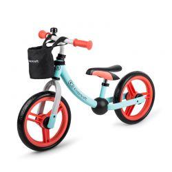 Παιδικό Ποδήλατο Ισορροπίας Με Αξεσουάρ Kinderkraft 2Way Next Χρώματος Mint