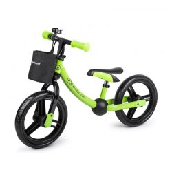 Παιδικό Ποδήλατο Ισορροπίας Με Αξεσουάρ Kinderkraft 2Way Next Χρώματος Πράσινο