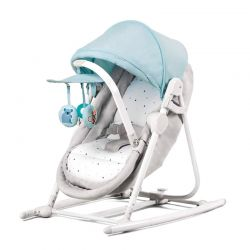 Παιδικό Ρηλάξ 5 σε 1 Χρώματος Γαλάζιο KinderKraft Unimo