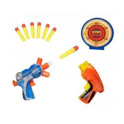 Σετ 2 Όπλα με Αφρώδη Βελάκια και Στόχο MWS2026