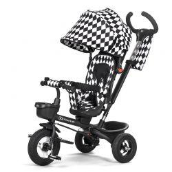 Τρίκυκλο Παιδικό Ποδήλατο με Λαβή Ελέγχου KinderKraft Aveo Χρώματος Μαύρο