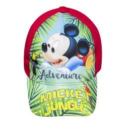Βρεφικό Καπέλο Τζόκεϊ Χρώματος Κόκκινο Mickey Mouse Disney ER4027