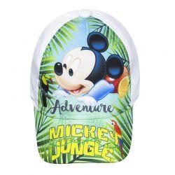 Βρεφικό Καπέλο Τζόκεϊ Χρώματος Λευκό Mickey Mouse Disney ER4027