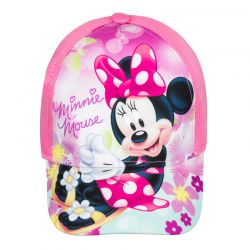 Παιδικό Καπέλο Τζόκεϊ Χρώματος Ροζ Minnie Mouse Disney ER4005