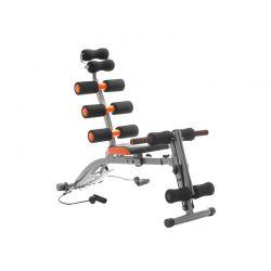 Ενιαίος Πάγκος Γυμναστικής με Οδηγό Άσκησης 6x InnovaGoods V0100597