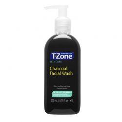 Gel Καθαρισμού Προσώπου με Άνθρακα 200 ml T-Zone 01036TZD