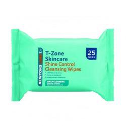 Υγρά Μαντηλάκια Καθαρισμού Προσώπου T-Zone 25τμχ 01067TZD