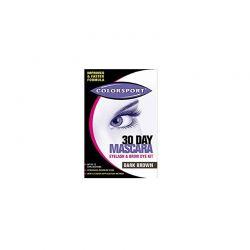Ημιμόνιμη Mascara Gel για Βλεφαρίδες και Φρύδια Χρώματος Καφέ Colorsport 05011COL