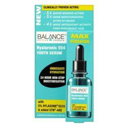 Ορός Προσώπου με Υαλουρονικό Οξύ 554 Youth Serum Balance Active Formula 30 ml 04018BAL