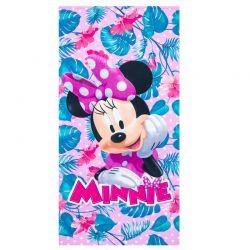 Παιδική Πετσέτα Θαλάσσης Χρώματος Ροζ Minnie Disney ER4356