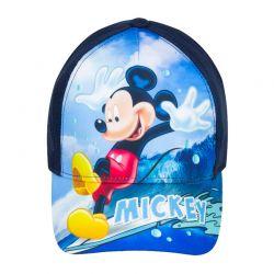 Βρεφικό Καπέλο Τζόκευ Χρώματος Μπλε Mickey Mouse Disney ER4198