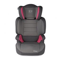 Παιδικό Κάθισμα Αυτοκινήτου Χρώματος Ροζ για Παιδιά 15-36 Kg KinderKraft Spark