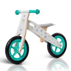 Παιδικό Ξύλινο Ποδήλατο Ισορροπίας KinderKraft Runner Stars