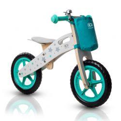 Παιδικό Ξύλινο Ποδήλατο Ισορροπίας Με Αξεσουάρ KinderKraft Runner Stars