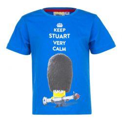 Παιδικό T-shirt Χρώματος Μπλε Minions Disney EP1016