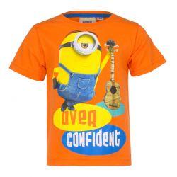 Παιδικό T-shirt Χρώματος Πορτοκαλί Minions Disney EP1016