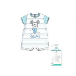 Βρεφικό Φορμάκι Χρώματος Λευκό Mickey Disney AQE0468