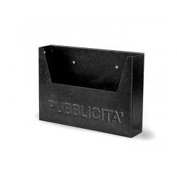 Κουτί Διαφημιστικών Εντύπων 34 x 7 x 25 cm Χρώματος Μαύρο MWS14510