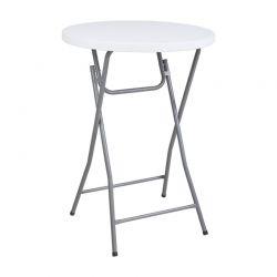 Πτυσσόμενο Στρόγγυλο Τραπέζι 80 x 110 cm Herzberg HG-5018
