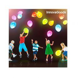 Σετ Μπαλόνια με LED Φωτισμό 10 τμχ InnovaGoods V0100905