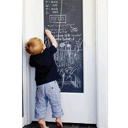 Αυτοκόλλητος Μαυροπίνακας Βινυλίου σε Ρολό με 5 Κιμωλίες 110 blackboard