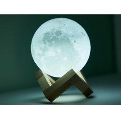Επαναφορτιζόμενο Φωτιστικό Αφής Φεγγάρι 3D με LED GloBrite VL3095