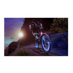 Φώτα LED για Τροχούς Ποδηλάτου Χρώματος Μπλε 2 τμχ SPM Wheel LED Lights