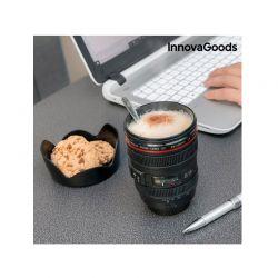 Κούπα Ποτήρι με Καπάκι Πολλαπλών Χρήσεων InnovaGoods V0100791