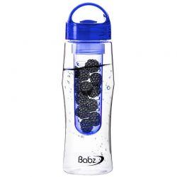 Μπουκάλι με Αποσπώμενο Φίλτρο για Φρούτα Χρώματος Μπλε 750 ml SPM Fruit Infuser bottles