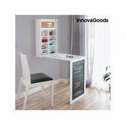 Πτυσσόμενο Ξύλινο Γραφείο Τοίχου 50 x 155 x 93 cm InnovaGoods V0100712
