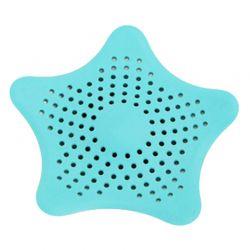 Τάπα Σιφωνιού για τις Τρίχες σε Σχήμα Αστερία Χρώματος Μπλε SPM plug filter BLUE