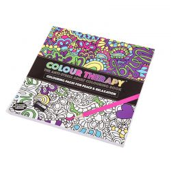 Χρωματοθεραπεία Βιβλίο Κατά του Άγχους Anti-Stress Book