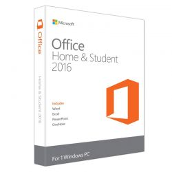 Microsoft Office Home and Student 2016 32/64 Bit for PC για Οικιακή Χρήση και Φοιτητές 79G-04294