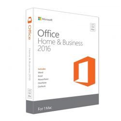 Microsoft Office Home and Business 2016 For Mac 1 User Ηλεκτρονική Άδεια W6F-00627