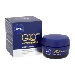 Αντιρυτιδική Κρέμα Νυκτός Nivea Q10 Plus 50 ml NIVEA AW Q10+NCR50