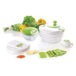 Έξυπνος Πολυκόφτης Λαχανικών με Χειροκίνητο Μύλο Άλεσης Herzberg HG-5057