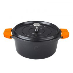 Κατσαρόλα 24 cm Slow Cooker Berlinger Haus Granit Diamond Line BH-1378